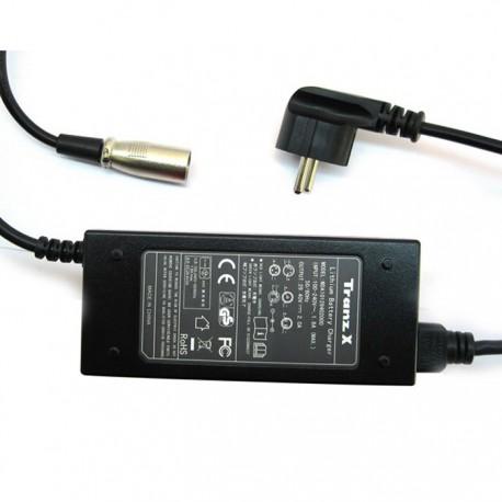 chargeur batterie 36v 5 pins